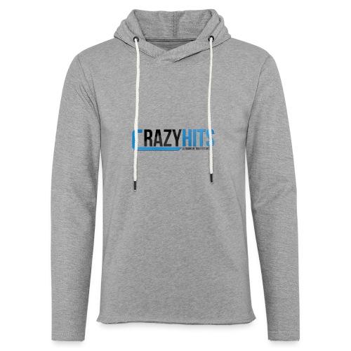 CrazyHIT - Sweat-shirt à capuche léger unisexe
