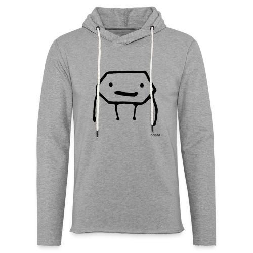 Strichmännchen - Leichtes Kapuzensweatshirt Unisex