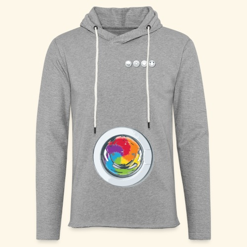 Rainbow Laundry-Unisex - Light Unisex Sweatshirt Hoodie