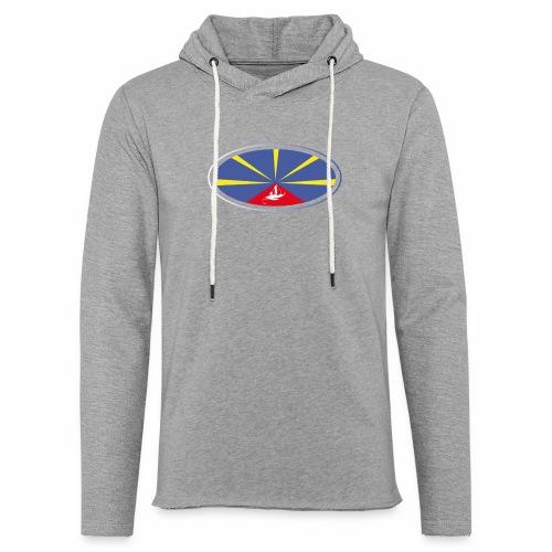 Paddle Reunion Flag - Sweat-shirt à capuche léger unisexe