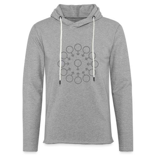 bukake - Sweat-shirt à capuche léger unisexe