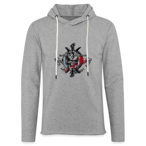Blood Skull Logo - Lätt luvtröja unisex