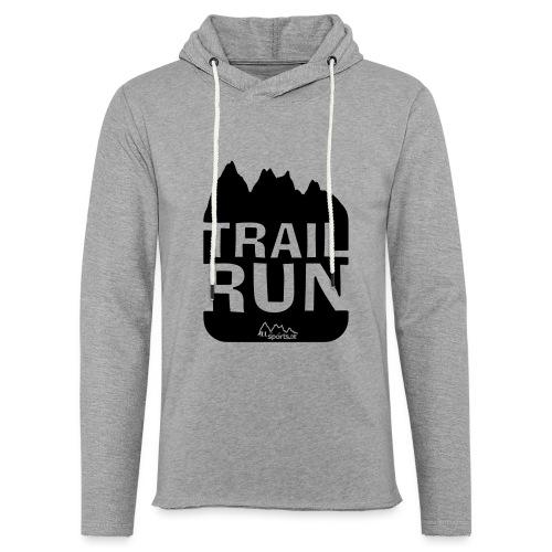Trail Run - Leichtes Kapuzensweatshirt Unisex