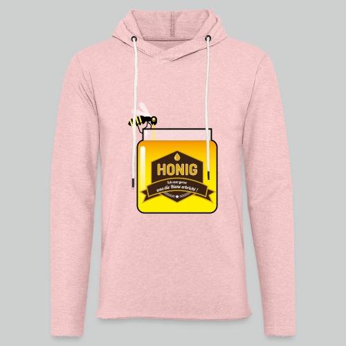 Honig ist lecker - Leichtes Kapuzensweatshirt Unisex