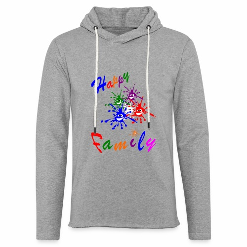 Happy Family - Light Unisex Sweatshirt Hoodie