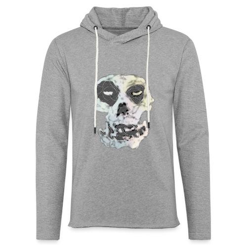 Weird Out Skull - Lätt luvtröja unisex