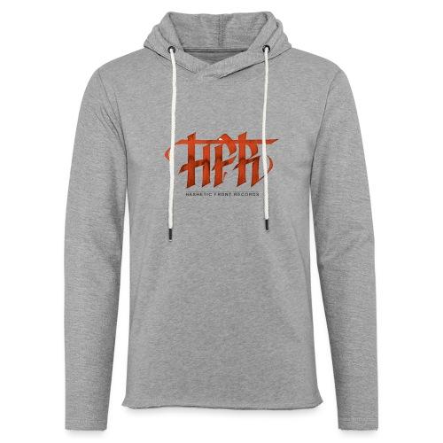HFR - Logotipo fatto a mano - Felpa con cappuccio leggera unisex