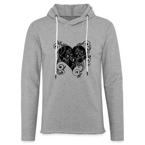 Isle of Heart Petal - Light Unisex Sweatshirt Hoodie