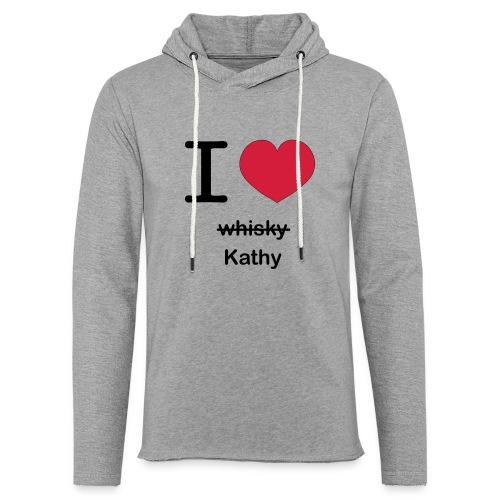 ilovekathy - Lichte hoodie unisex