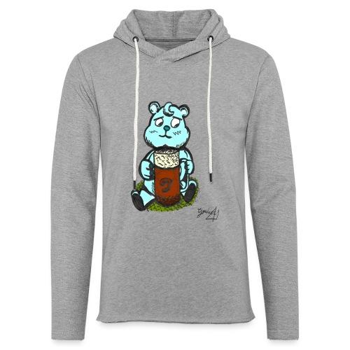 Ours Triste AngelerasCorp - Sweat-shirt à capuche léger unisexe