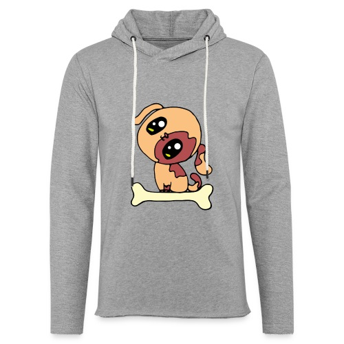 Kawaii le chien mignon - Sweat-shirt à capuche léger unisexe