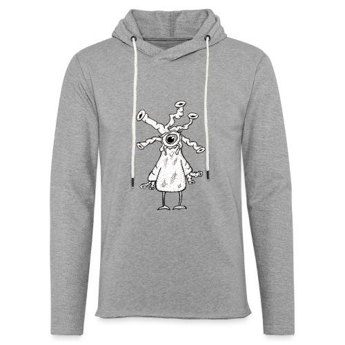 snorkelhead - Sweat-shirt à capuche léger unisexe