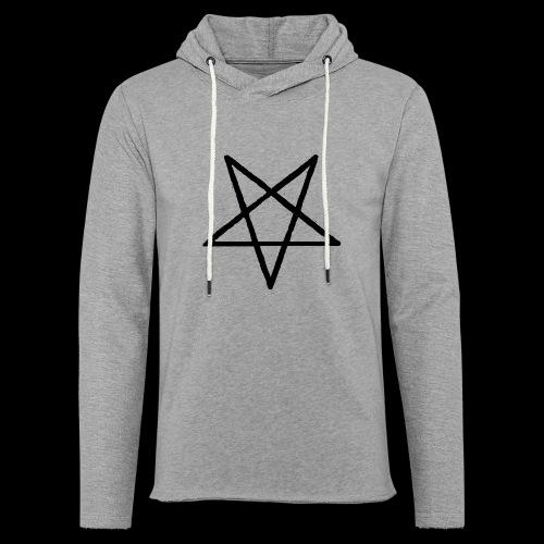 Pentagram2 png - Leichtes Kapuzensweatshirt Unisex