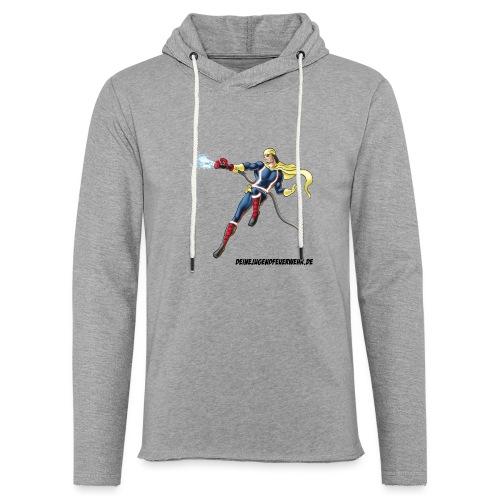 Captain Firefighter - Leichtes Kapuzensweatshirt Unisex