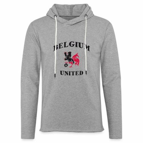 Belgium Unit - Light Unisex Sweatshirt Hoodie