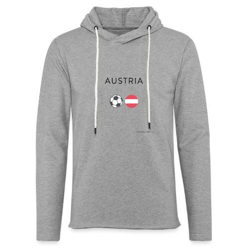 Austria Fußball - Leichtes Kapuzensweatshirt Unisex