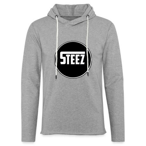 Steez t-Shirt black - Lichte hoodie unisex