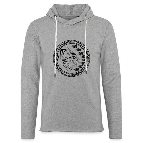 Anklitch trui grijs - Lichte hoodie unisex