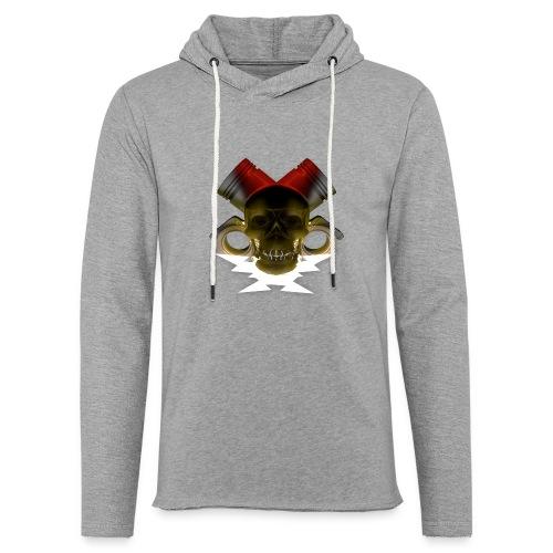 crane pistonné eclair - Sweat-shirt à capuche léger unisexe