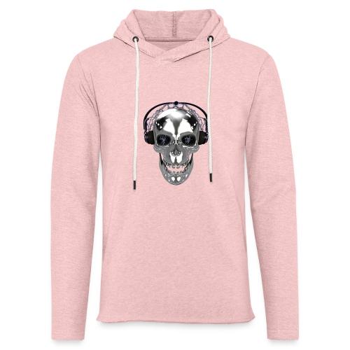 Skull chrome electrique - Sweat-shirt à capuche léger unisexe
