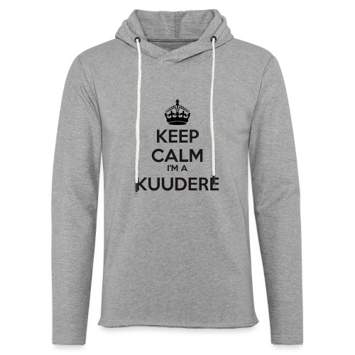 Kuudere keep calm - Light Unisex Sweatshirt Hoodie