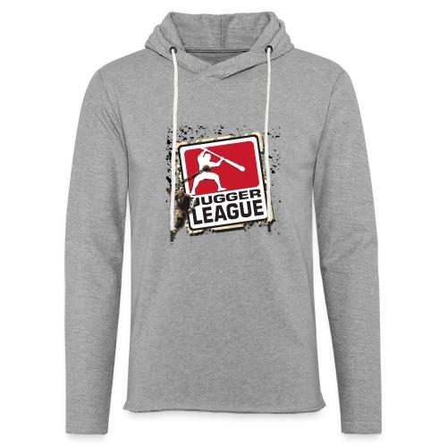 Jugger LigaLogo Splash - Leichtes Kapuzensweatshirt Unisex