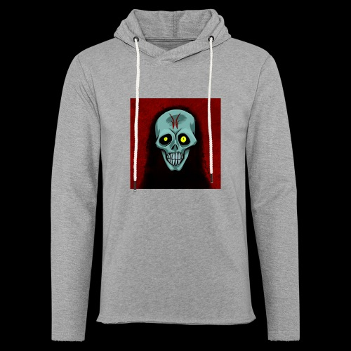 Ghost skull - Light Unisex Sweatshirt Hoodie