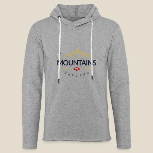 Outdoor mountain - Sweat-shirt à capuche léger unisexe