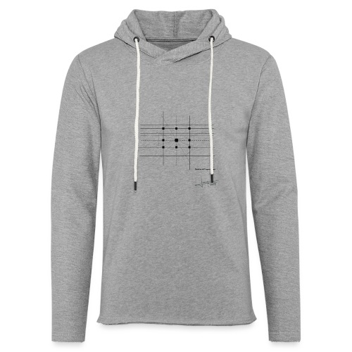 Variation de l'espace Temps By Joaquin - Light Unisex Sweatshirt Hoodie