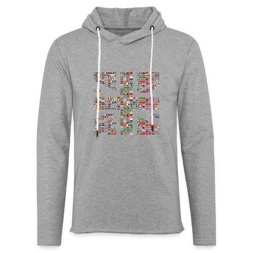 The Union Hack - Light Unisex Sweatshirt Hoodie