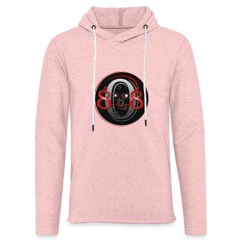 808shop-simple - Sweat-shirt à capuche léger unisexe