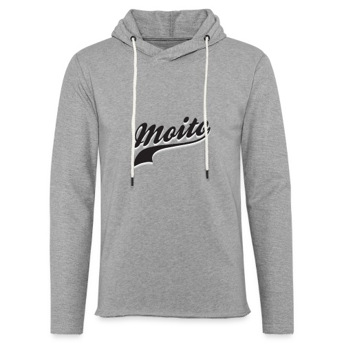 La grande Moito - Sweat-shirt à capuche léger unisexe