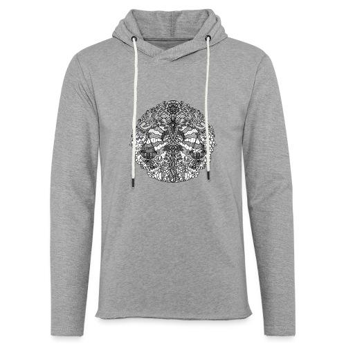Sternzeichen Waage - Leichtes Kapuzensweatshirt Unisex