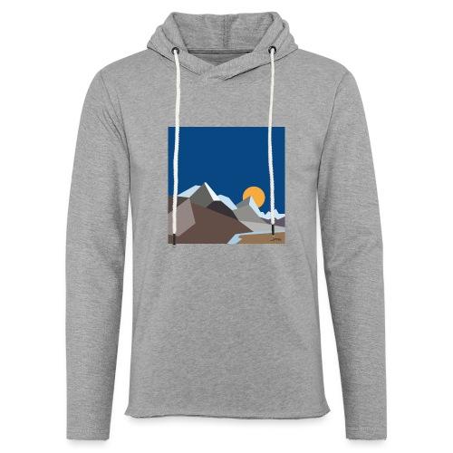 Himalayas - Light Unisex Sweatshirt Hoodie
