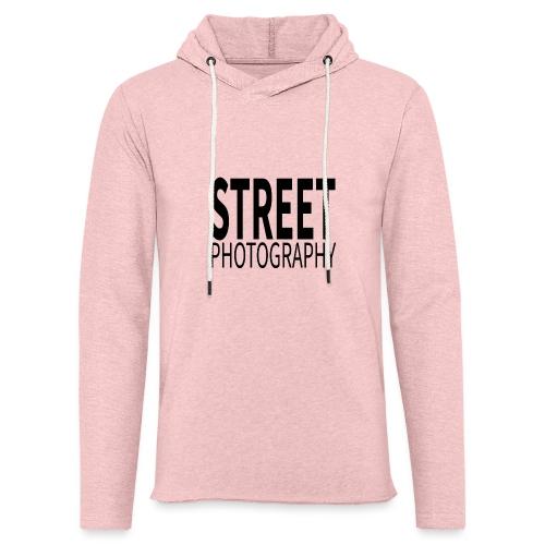 Street photography Black - Felpa con cappuccio leggera unisex