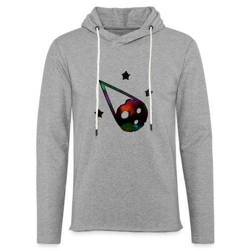 logo interestelar - Sudadera ligera unisex con capucha
