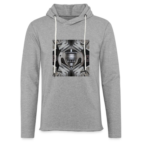 metalen motor onderdelen - Lichte hoodie unisex