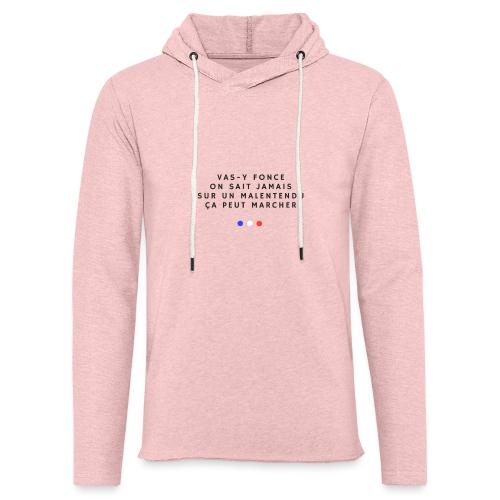 Sur un malentendu - Sweat-shirt à capuche léger unisexe