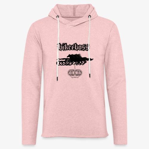 horsebiker - Sweat-shirt à capuche léger unisexe