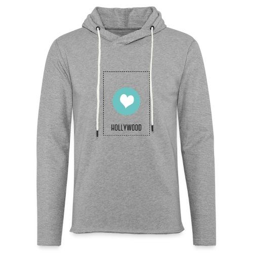 I Love Hollywood - Leichtes Kapuzensweatshirt Unisex