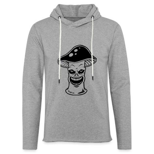 Happy Pilz - Leichtes Kapuzensweatshirt Unisex