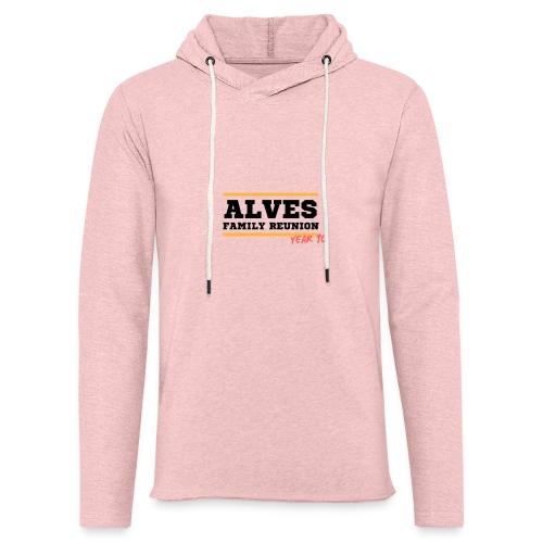 Alves - Felpa con cappuccio leggera unisex