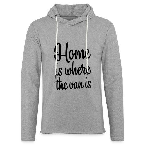 camperhome01b - Lett unisex hette-sweatshirt