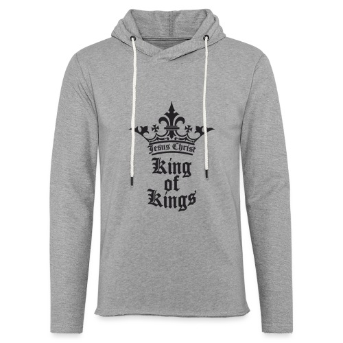 king_of_kings - Leichtes Kapuzensweatshirt Unisex