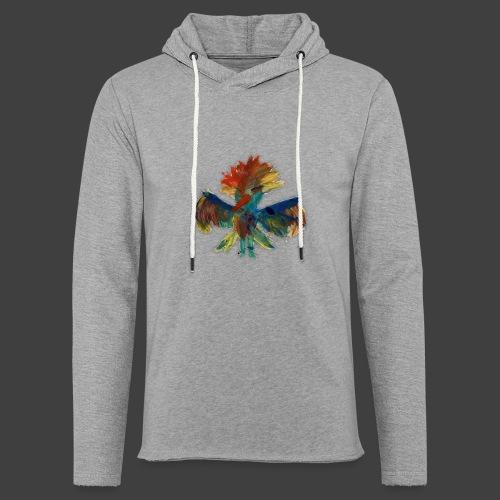 Mayas bird - Light Unisex Sweatshirt Hoodie