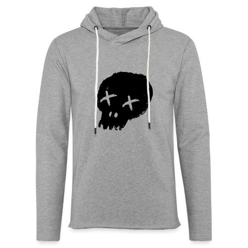 blackskulllogo png - Light Unisex Sweatshirt Hoodie
