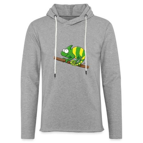 chamaeleon - Leichtes Kapuzensweatshirt Unisex