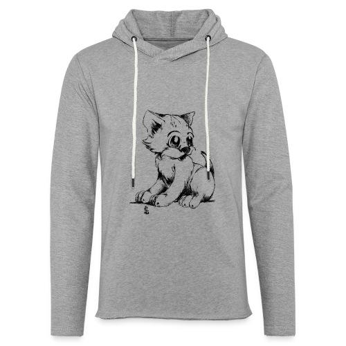 Chaton - Sweat-shirt à capuche léger unisexe