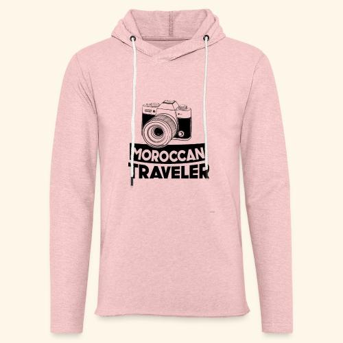 Moroccan Traveler - Sweat-shirt à capuche léger unisexe