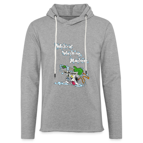 Wicked Washing Machine Cartoon and Logo - Lichte hoodie unisex